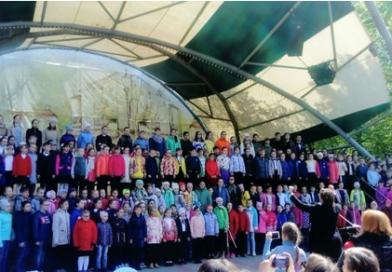 Детский хоровой праздник, посвященный  Дням славянской письменности и культуры